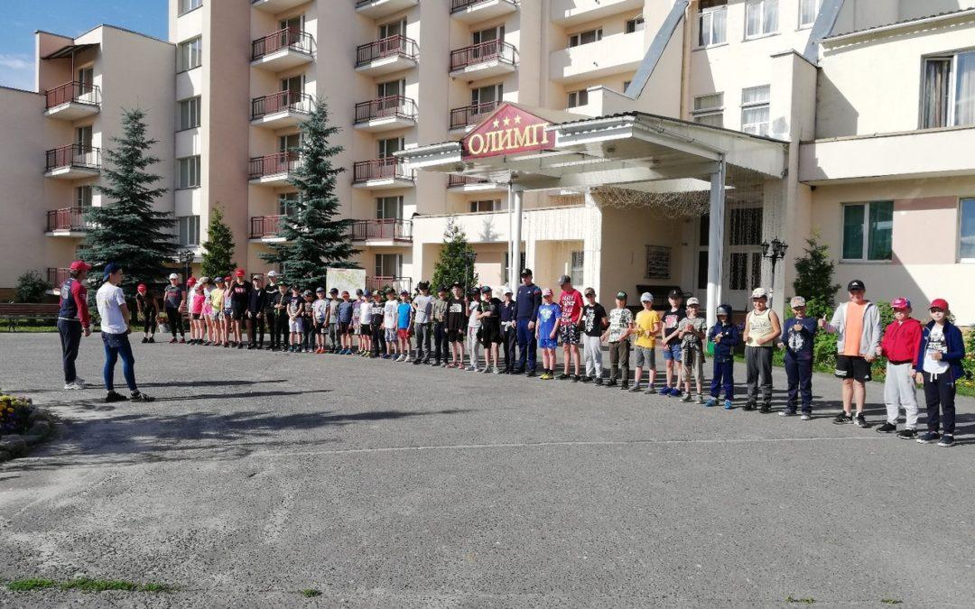 """Учебно-тренировочные сборы в парк-отеле """"Олимп"""". Дни 9-10"""