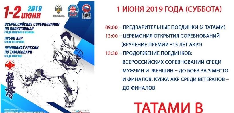 Всероссийские соревнования по Киокусинкай АКР
