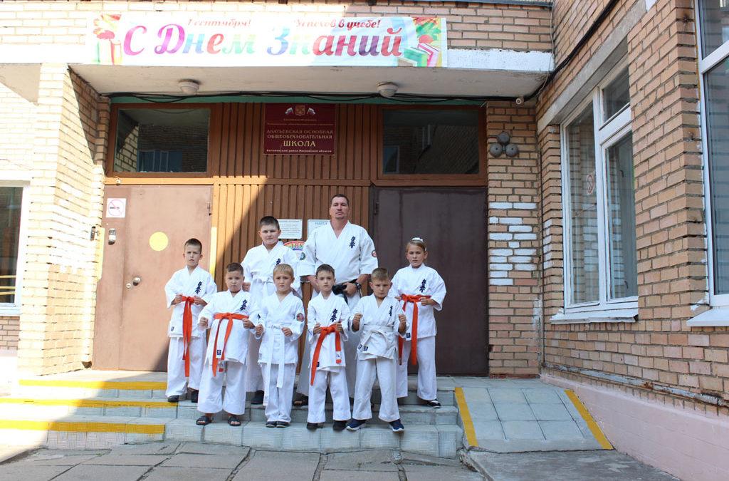 День здоровья в Акатьевской школе